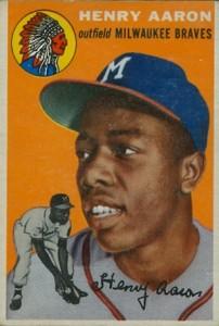 1954 Topps Hank Aaron RC