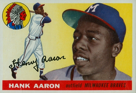 Vintage Topps Hank Aaron Baseball Cards Showcase 2