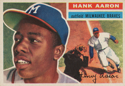 Vintage Topps Hank Aaron Baseball Cards Showcase 3