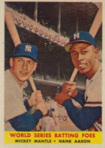 Vintage Topps Hank Aaron Baseball Cards Showcase 7