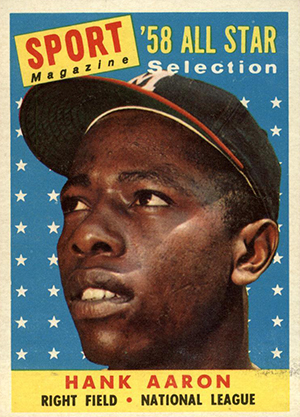 Vintage Topps Hank Aaron Baseball Cards Showcase Gallery and Checklist 8