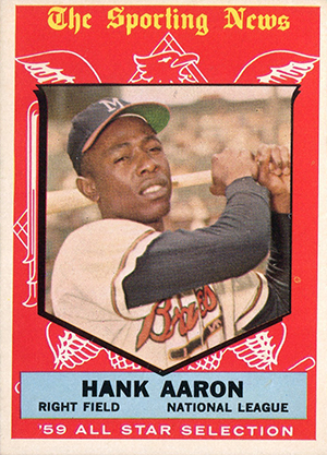 Vintage Topps Hank Aaron Baseball Cards Showcase Gallery and Checklist 12