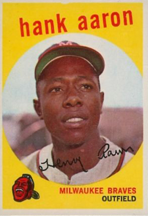 Vintage Topps Hank Aaron Baseball Cards Showcase Gallery and Checklist 9