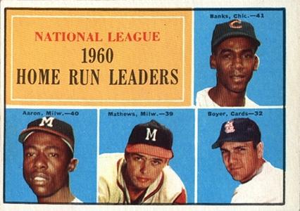 Vintage Topps Hank Aaron Baseball Cards Showcase 16