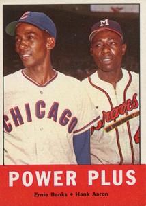 Vintage Topps Hank Aaron Baseball Cards Showcase 24