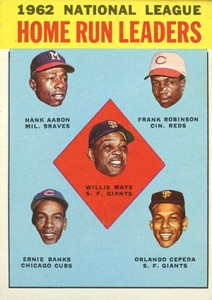 Vintage Topps Hank Aaron Baseball Cards Showcase 23