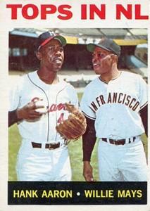 Vintage Topps Hank Aaron Baseball Cards Showcase 29