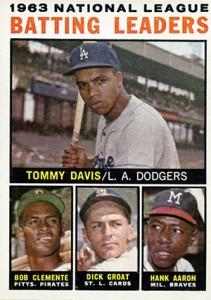 Vintage Topps Hank Aaron Baseball Cards Showcase 26