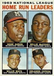 Vintage Topps Hank Aaron Baseball Cards Showcase 27