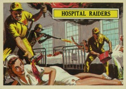 1965 Topps Battle Trading Cards 3