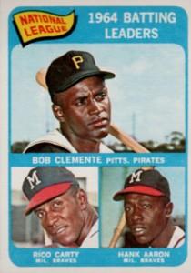 Vintage Topps Hank Aaron Baseball Cards Showcase 31