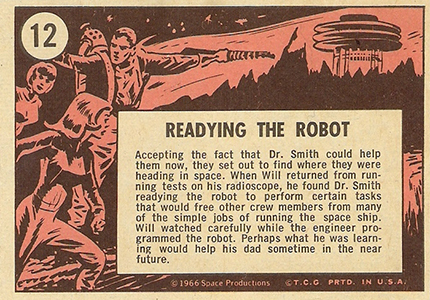 1966 Topps Lost in Space Trading Cards 2