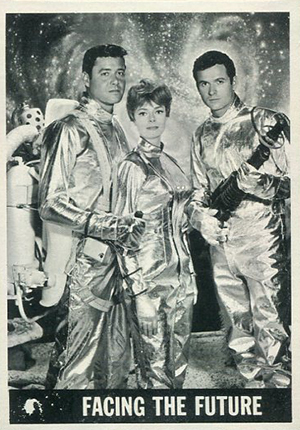 1966 Topps Lost in Space Trading Cards 21