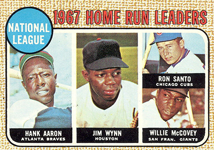 Vintage Topps Hank Aaron Baseball Cards Showcase 39