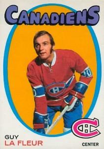 1971-72 O-Pee-Chee Guy Lafleur RC