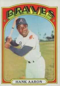 Vintage Topps Hank Aaron Baseball Cards Showcase 46