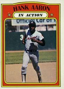 Vintage Topps Hank Aaron Baseball Cards Showcase 49