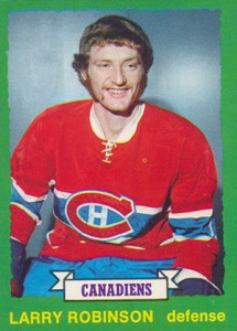 1973-74 O-Pee-Chee Larry Robinson RC