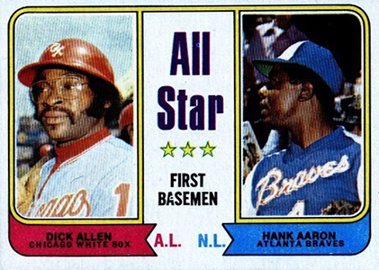 Vintage Topps Hank Aaron Baseball Cards Showcase 59