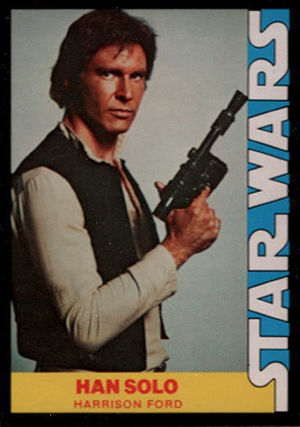 1977 Wonder Bread Star Wars Han Solo