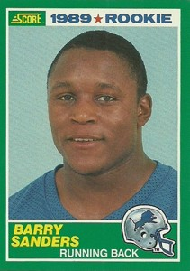 Barry Sanders Cards and Memorabilia Guide 2