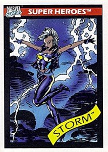 1990 Impel Marvel Universe 48 Storm