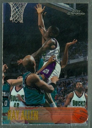 Top 1990s Basketball Rookie Cards to Collect 8