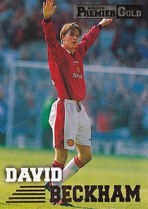 Top David Beckham Soccer Cards 1