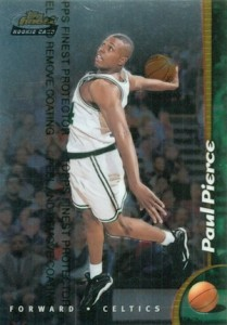 Paul Pierce Rookie Cards and Autograph Memorabilia Guide 25