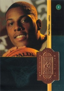 Paul Pierce Rookie Cards and Autograph Memorabilia Guide 1