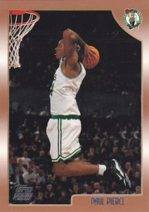 Paul Pierce Rookie Cards and Autograph Memorabilia Guide 24