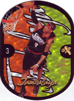 Ultimate Fleer Jambalaya Insert Card Guide 26