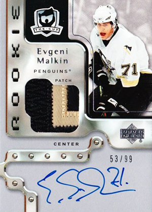 2006-07 Upper Deck The Cup Evgeni Malkin RC
