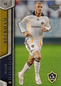 2007 Upper Deck MLS David Beckham