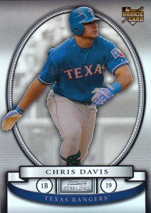 Chris Davis Rookie Cards and Memorabilia Guide 3