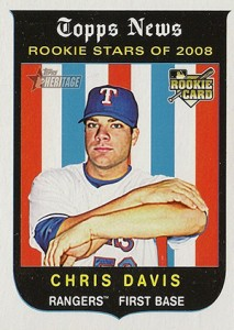 Chris Davis Rookie Cards and Memorabilia Guide 6