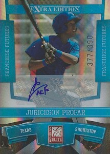 Jurickson Profar Rookie Card and Prospect Card Guide 9