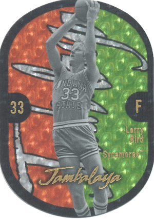 Ultimate Fleer Jambalaya Insert Card Guide 27