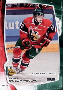 Nathan MacKinnon Hockey Cards - 2011-12 Halifax Mooseheads