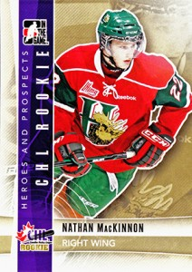 2011-12 ITG Heroes and Prospects Nathan MacKinnon