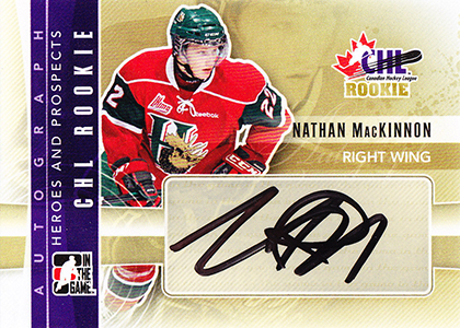 2011-12 ITG Heroes and Prospects Nathan MacKinnon Autograph