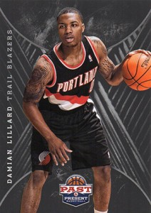 2011-12 Panini Past and Present Damian Lillard