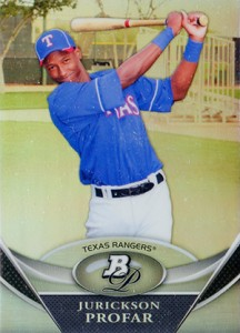 Jurickson Profar Rookie Card and Prospect Card Guide 12