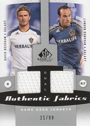 Top David Beckham Soccer Cards 4