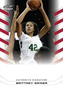 Brittney Griner Autograph Cards on the Way from Leaf 1