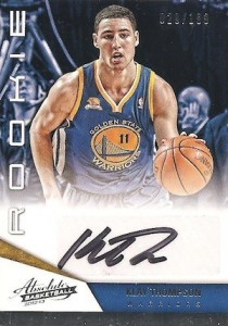 Klay Thompson Rookie Card Checklist 3