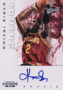 2012-13 Panini Contenders Kyrie Irving RC