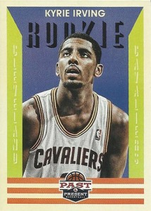 2012-13 Panini Past and Present Kyrie Irving RC