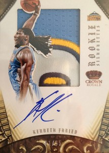 2012-13 Panini Preferred Basketball Hot List and Top Sales 27