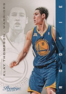 Klay Thompson Rookie Card Checklist 1